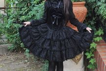 Alt dresses/skirts / Dresses in goth, visual kei and other alternative styles.