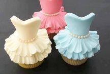 Taarten en cupcake