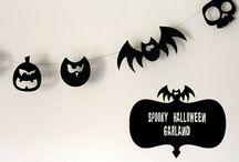 Halloween crafty tutorials / by Rebecca Price