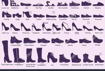 lexique chaussures