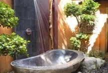 Kerti fürdő