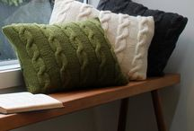 Cushions at Cauliflower / The Coulter and Coulter range of designer cushions from Cauliflower Household Goods.
