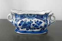 Jardiniere Porceleyne Fles-Royal Delft