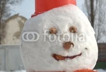 SNOW MAN and CHRISTMAS TIME / Some shots of the wonderful winter holidays