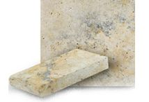 Travertine Pool Coping / A wonderful selection of travertine pool coping, perfect for your pool or spa. Available at www.stonehardscapes.com