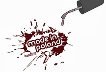 made in Poland: only Polish...polish lacquers! / You can find here nail lacquers that are made only in Poland. The board created by Polish bloggers to share their favourite bottles that are available only in our country! Let's show the best of Polish polishes! :)