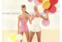vintage swimsuits and playsuits / by Viva Zak