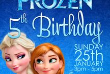 Frozen! / Inspiration for my daughters impending 5th birthday party. / by burp! boutique