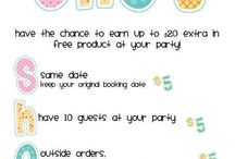 Get Your Party On! / Great tools, tips and ideas for Scentsy Parties and Velata Parties.