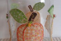potes de vidros decoradas