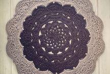 dywany szydełkowa robota