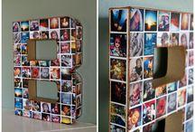 Inspiración / Un tablero que recoge ideas con foto que puedes hacer en nuestras tiendas.