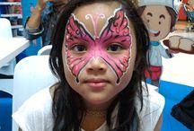 Skippy dan Face Painting Jakarta di Mall Gandaria City
