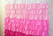 DIY - Ruffle Curtain