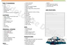 Camping Recipes and Ideas