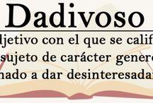 vocabulario español