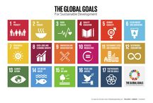 The #GlobalGoals for Sustainable Development / The Sustainable Development Goals will be in effect 2016-2030.