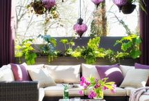 Outdoor design / Seating area