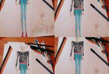 My work!! / Fashion designer - Modelist