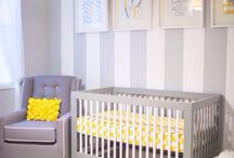 Nursery and baby things