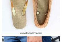 flip flop to crochet