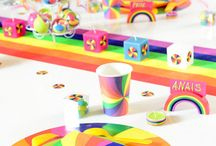 Regenboog Feest - Rainbow Party / by Sisters in Wonderland