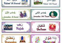 islam. maanden