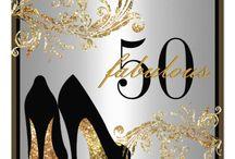 Invitations Pour 50ème Anniversaire / Annversaire moi