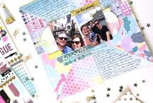 Shine Bright: Scrapbook Circle September 2016 Kit / Ideas and inspiration using the Scrapbook Circle September 2016 Kit and add-ons