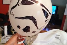May the force party with you / Star Wars themed party ideas for children's birthday party