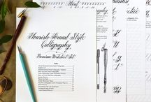 Caligraphy & Typography / A collection on nice type!