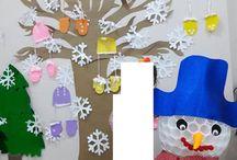 Winter craft and art ideas