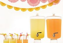 Orange and Pink party
