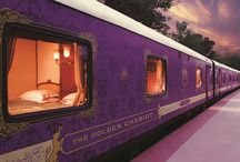 The Golden Chariot Train / Book The Golden Chariot train tickets online and start your journey to explore South India in luxury style. Journey route starts from Bangalore on every Monday. http://www.indiarailways.org/the-golden-chariot