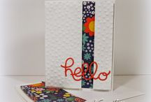 Crazy About You/Hello You Thinlets - Stampin' Up / by Diana Crawford