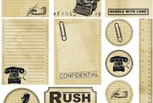 planner decoration & inspiration / Vintage style decoration to planners