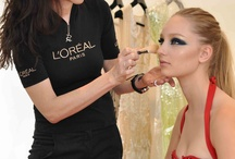 """working Makeup 'behind the Scenes"""""""