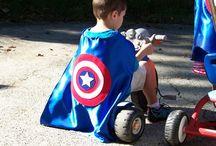 super hero capes!