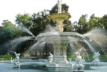 Favorite Place - Savannah / Savannah places and history - Lived in Savannah for 6 years; Ardley's Park Neighborhood...
