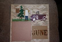 Rj's Scrapbook Page / Some of My creations