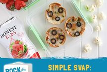 Rock the Lunch Box / Ideas and savings for fun lunches, featuring the organic goodness of some of our favorite brands.