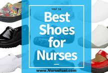 Best Shoes for Nurses / See the best shoes for nurses.  We've searched far and wide for nursing shoes with style and comfort.