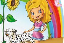 Dla dzieci i młodzieży - kolorowanki / Bajkowe i baśniowe kolorowanki dla dzieci