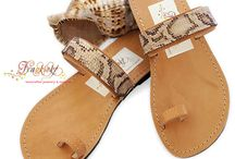 Leather Sandals (with a secret..)_Boho Chic Style