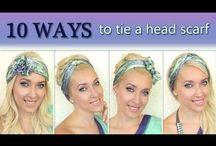 Headscarf fashionista  / How to headscarf...