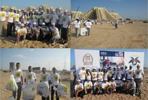 "Clean Up UAE campaign and Tree Planting Activity  / ""Savoy Dubai Team participates in the Clean Up UAE campaign and Tree Planting Activity at Ras Al Khaimah, organized by EEG ( Emirates Environmental Group) on the historic date 11.12.13 (11th December 2013)."""