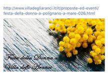 Eventi / Villa degli Aranci organizza ogni tipo di evento...