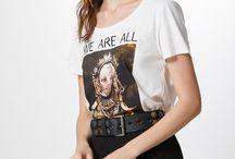 T-Shirt Primavera/Verão18' / T-Shirts da Coleção Primavera/Verão18'
