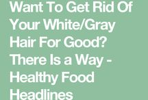 Get rid of grey hair