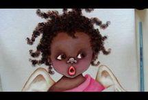 Pintura de bonecos